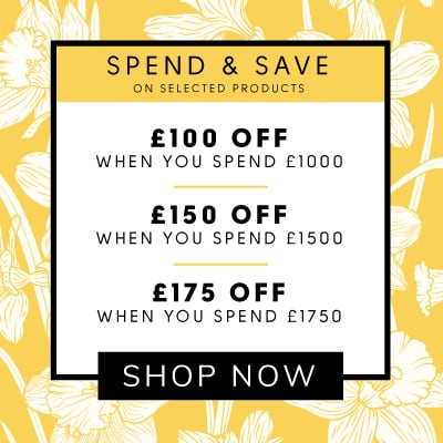 Spend and save up to £175 when you spend over £1750