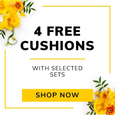 4 Free Scatter Cushions with selected sets