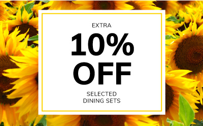 10% off all dining sets