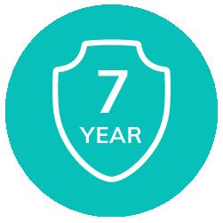 7 Year Structural Warranty