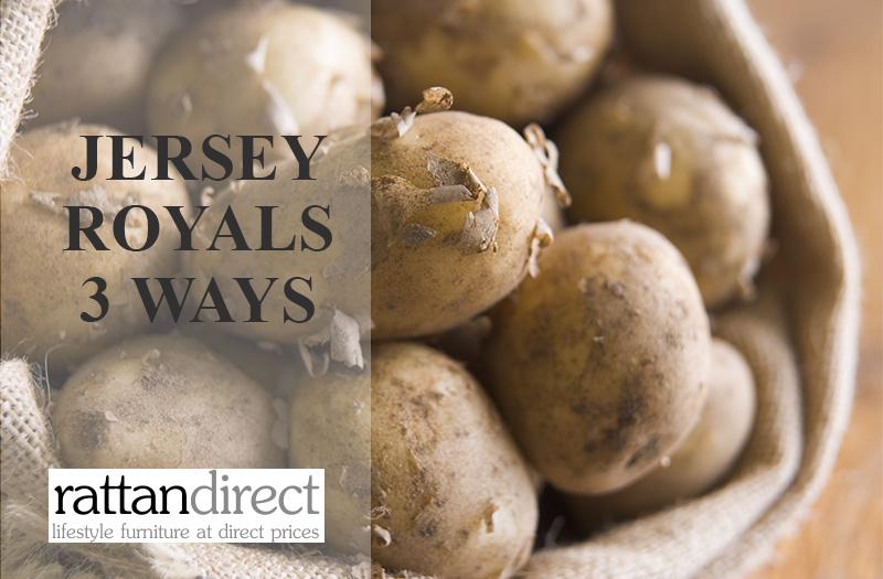 Jersey Royals 3 ways