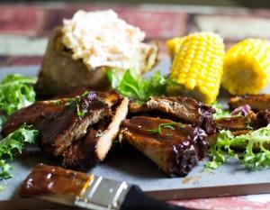 Sticky BBQ ribs recipe
