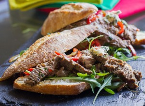 Prego steak roll - a quick and easy recipe