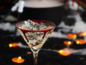 Halloween cocktails (and edible fake blood!)