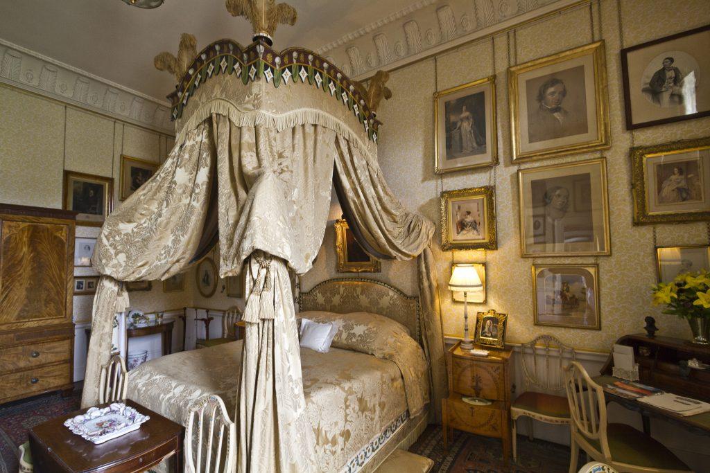 Lady Georgiana's Bedroom, Castle Howard, York. Interior designer