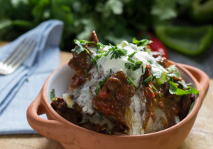 Slow cooker Texas beef chilli