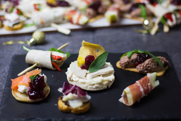 how to make canapes at home