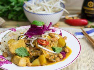 Turkey curry – Thai massaman curry recipe for turkey leftovers