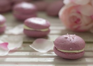 Valentine's macarons; an act of love