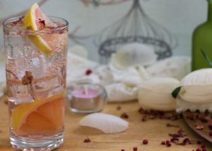 Valentines cocktails; why not try bespoke pink gin?