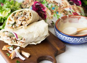 Chicken Shawarma – try something different for your Bank Holiday BBQ