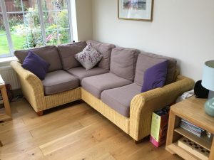 How to clean woven rattan furniture