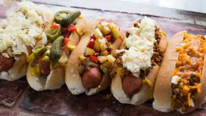Hot dogs USA style - 5 of the best