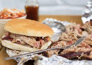 BBQ pulled pork - North Carolina style