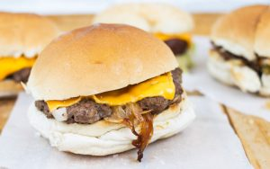 Classic American burgers; some regional favourites