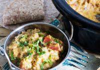 slow cooker lentil dal
