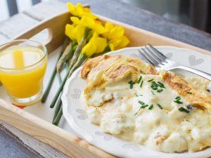 Omelette Arnold Bennett for the perfect Mother's Day brunch