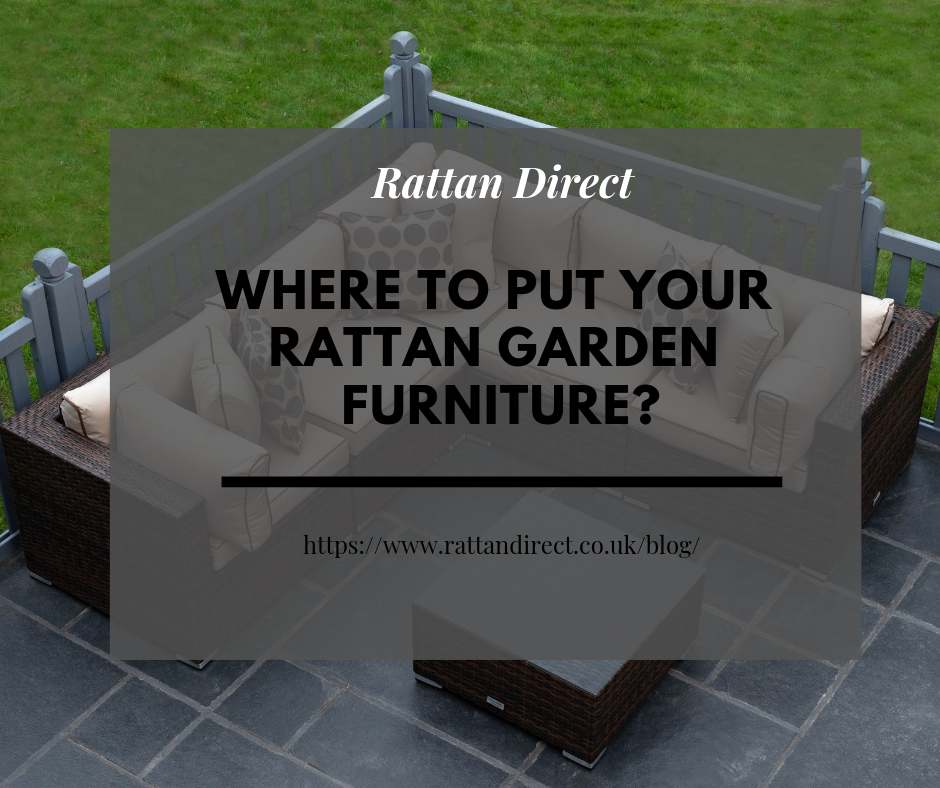Putting Rattan Furniture on Artificial Grass, Decking or Patios - Where's Best?