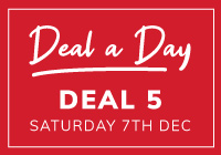 Deal a Day 5 - £100 Off Selected Barcelona Cube Sets