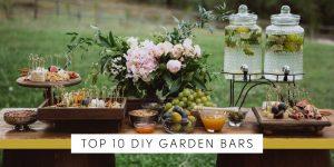 Top 10 Best DIY Garden Bars