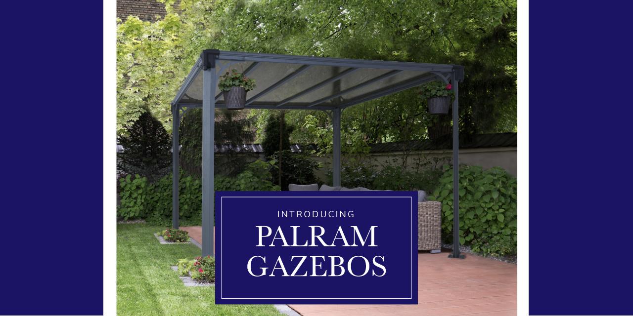 Introducing - Palram Gazebos