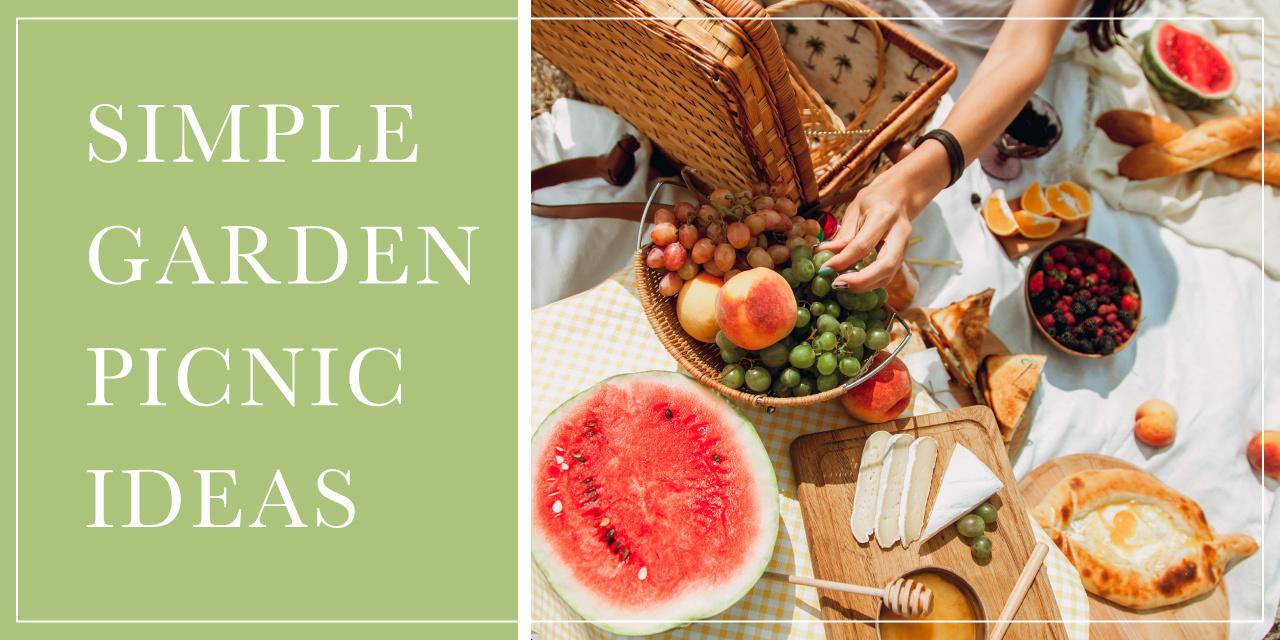 Simple Garden Picnic Ideas